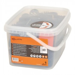Isolateur à vis BS bois (125 pcs) Isolateurs piquets permanents