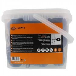 Isolateur à vis BS Super bois (100 pcs) Isolateurs piquets permanents