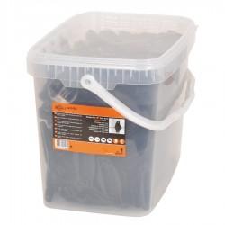 Isolateur de soutien W Super, noir (175 pcs) Isolateurs piquets permanents