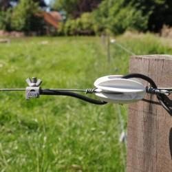 Boulons coudés avec écrou papillon (100 pcs) Connecteurs et tendeurs