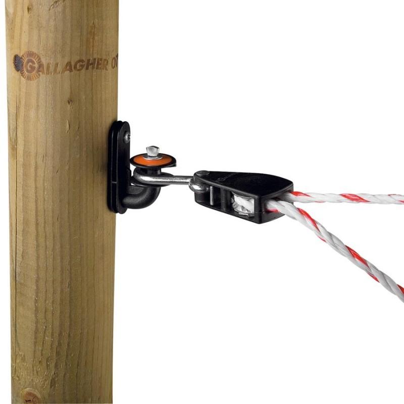 Tendeur pour cordon avec isolateur Connecteurs et tendeurs