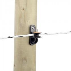 Isolateur d'angle à poulie (5 pcs) Isolateurs piquets permanents