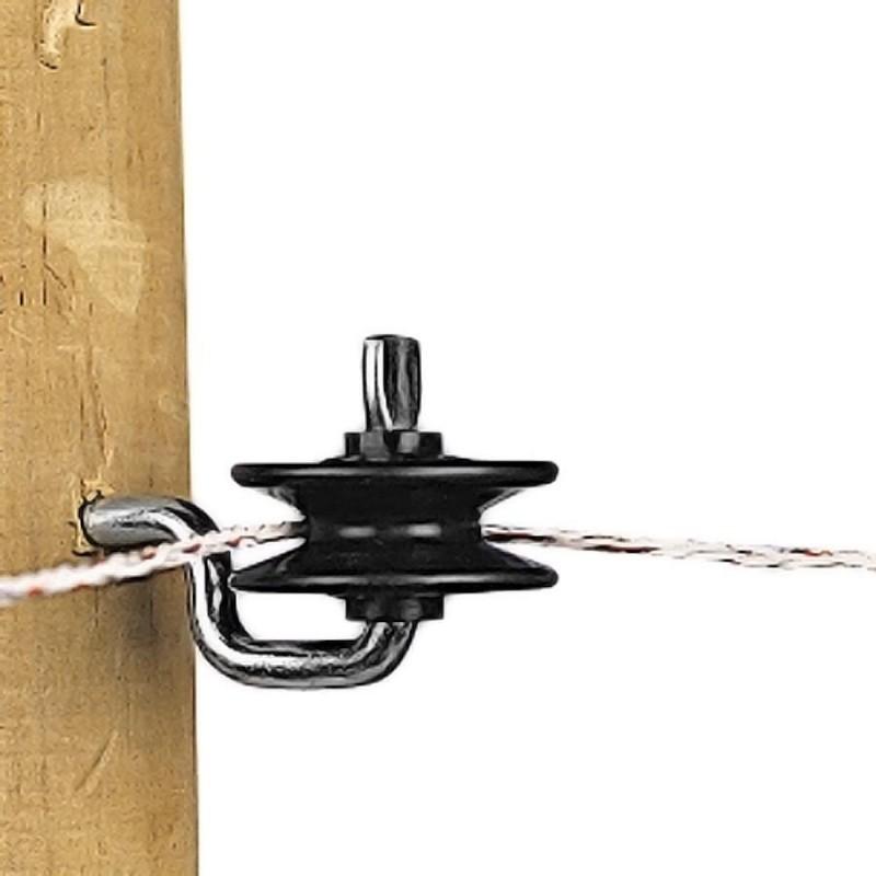 Isolateur à poulie (5 pcs) Isolateurs piquets permanents