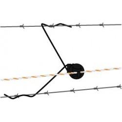 Isolateur à distance noir (25 pcs) Isolateurs à distance