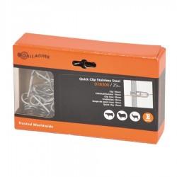 Ressort inox réglable (ø 10mm, 25 pcs) Isolateurs piquets mobiles