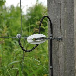 Câble de terre 1,6mm souple, rouleau de 10m, 100 Ohm/1km Mise à la terre