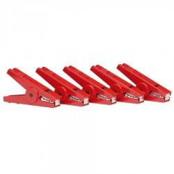 Crocodile clip Red (5) Accessoires de clôture