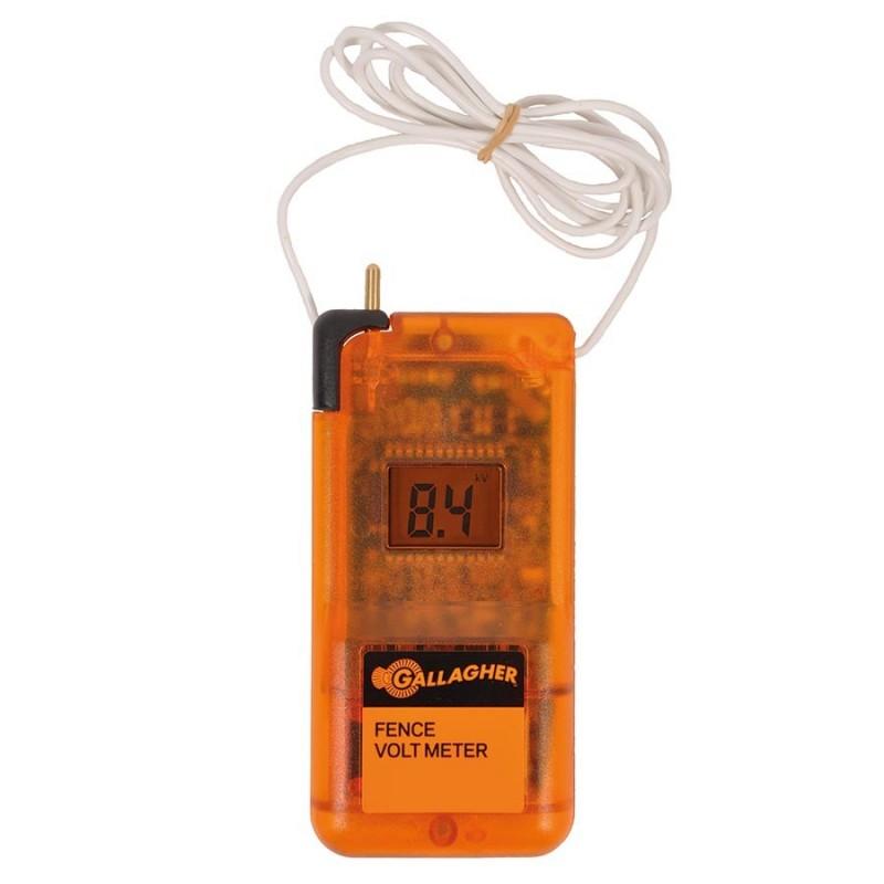 Voltmètre digital Testeurs clôtures électriques