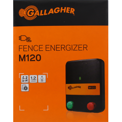 Electrificateur/poste de clôture Gallagher secteur M120 (230V - 1,2 J) Electrificateurs sur secteur