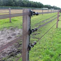 Poignée bi-matière terra ruban (4 pcs) Portes de clôtures