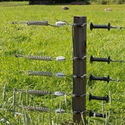 Poignée (noir) Portes de clôtures