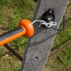 Isolateur d'ancrage 3 directions (4 pcs) Portes de clôtures