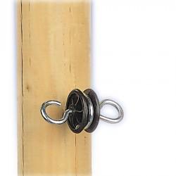 Isolateur d'ancrage (4 pcs) Portes de clôtures