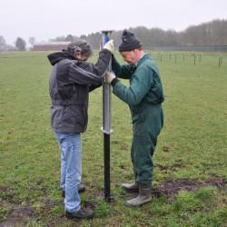 Enfonce-pieux piquet Eco Outils pour clôtures